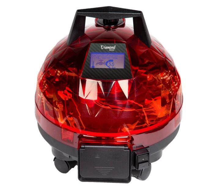 Kırmızı Unitekno Diamond Buharlı Temizlik Makinesi Ön Görünüm