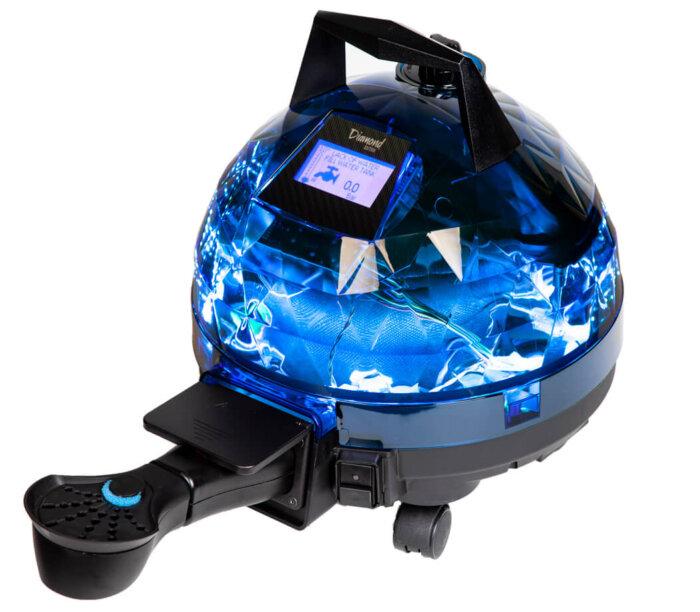 Mavi Unitekno Diamond Buharlı Temizlik Makinesi Aparatlı Görünüm