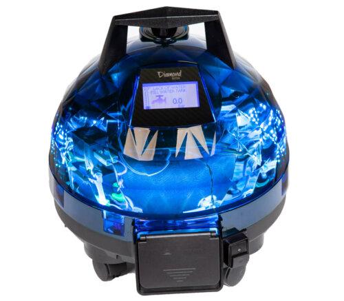 Mavi Unitekno Diamond Buharlı Temizlik Makinesi ön Görünüm