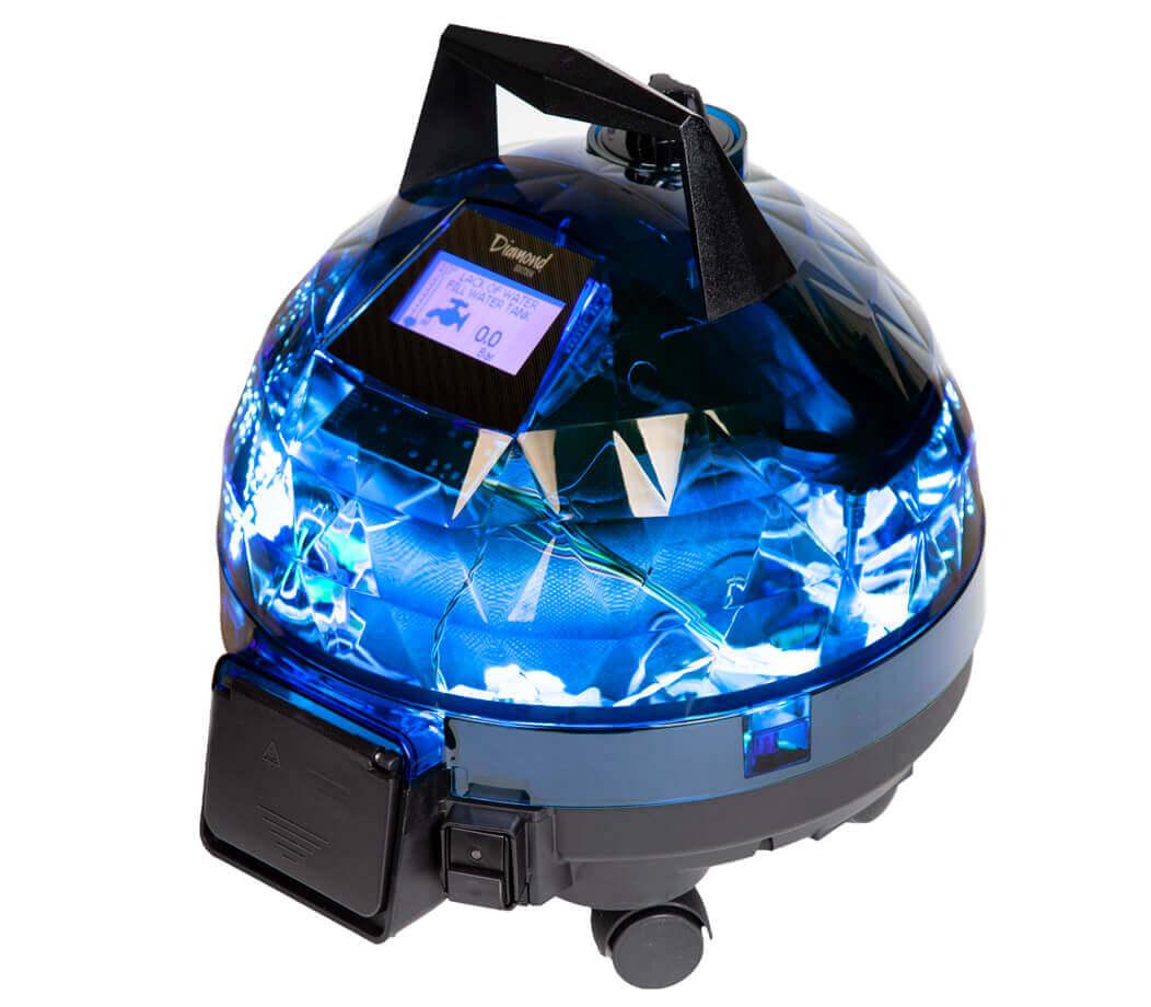 Mavi Unitekno Diamond Buharlı Temizlik Makinesi Sağ Görünüm