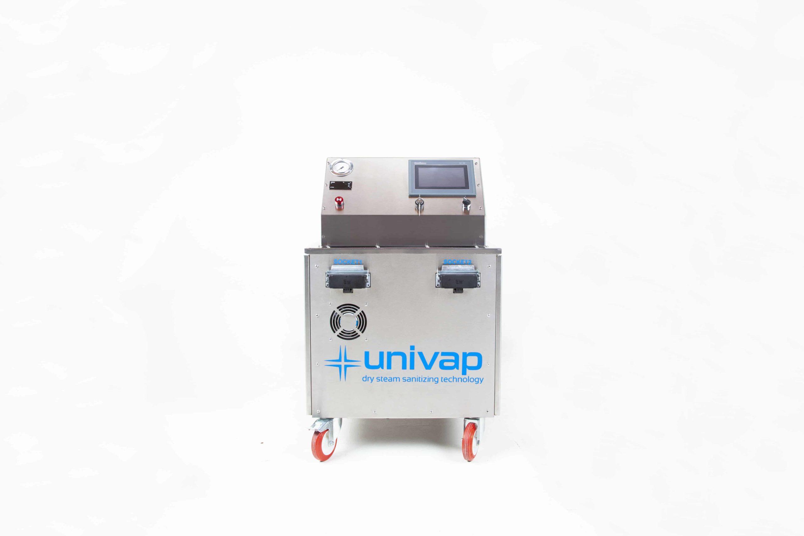 Пароочиститель Uni SVC 27-48, вид спереди
