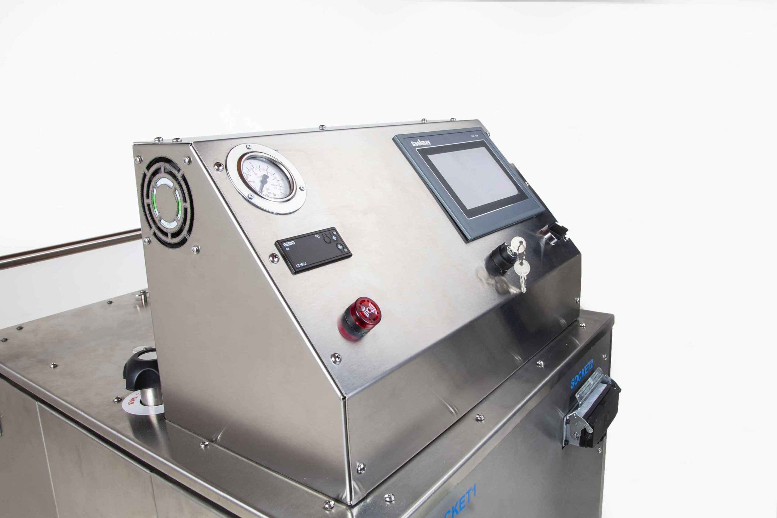 UNI SVC 27-48 Steam Cleaning Machine Front Panel Side View