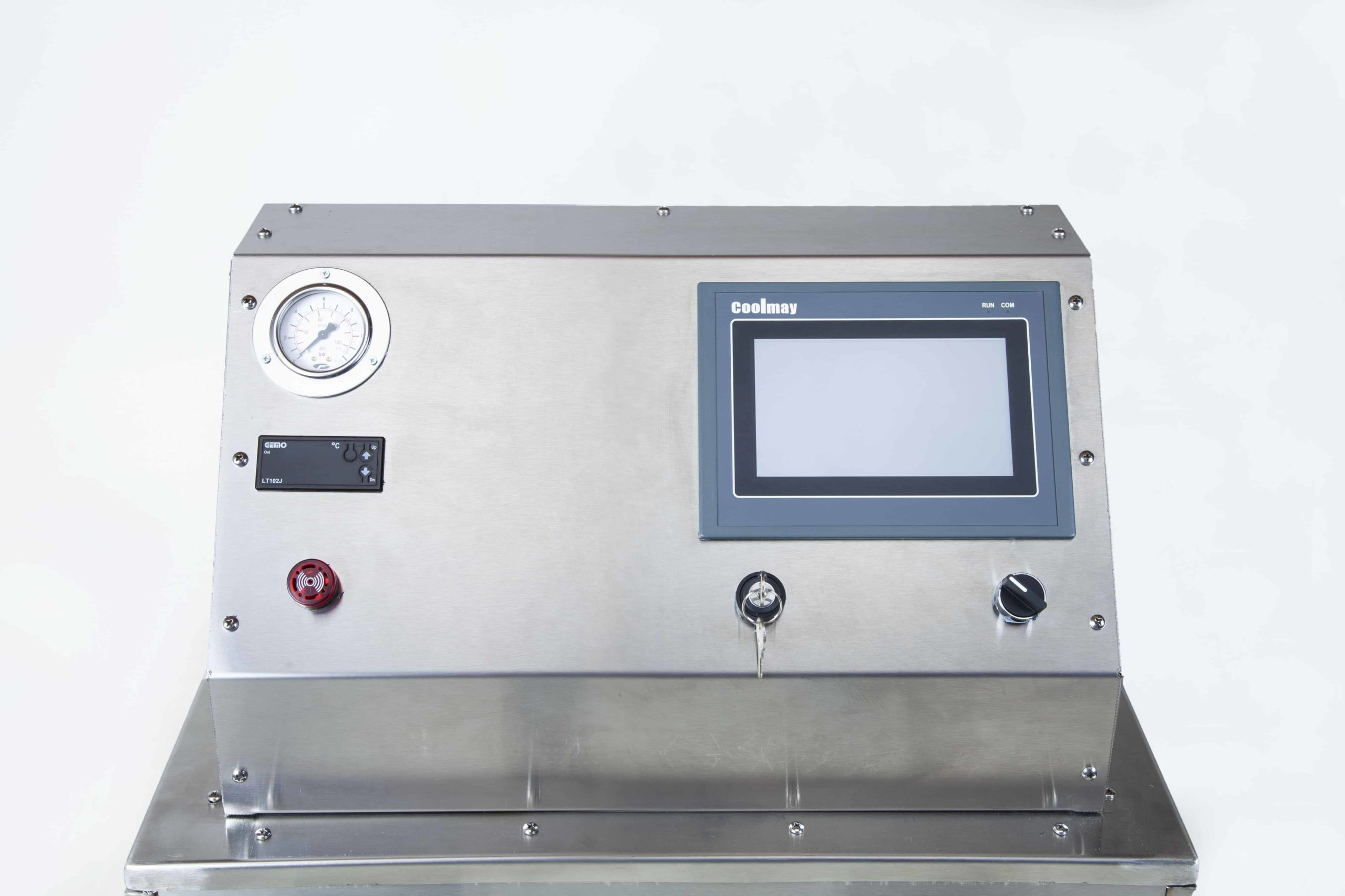 UNI SVC 27-48 Steam Cleaner Machine Panel View
