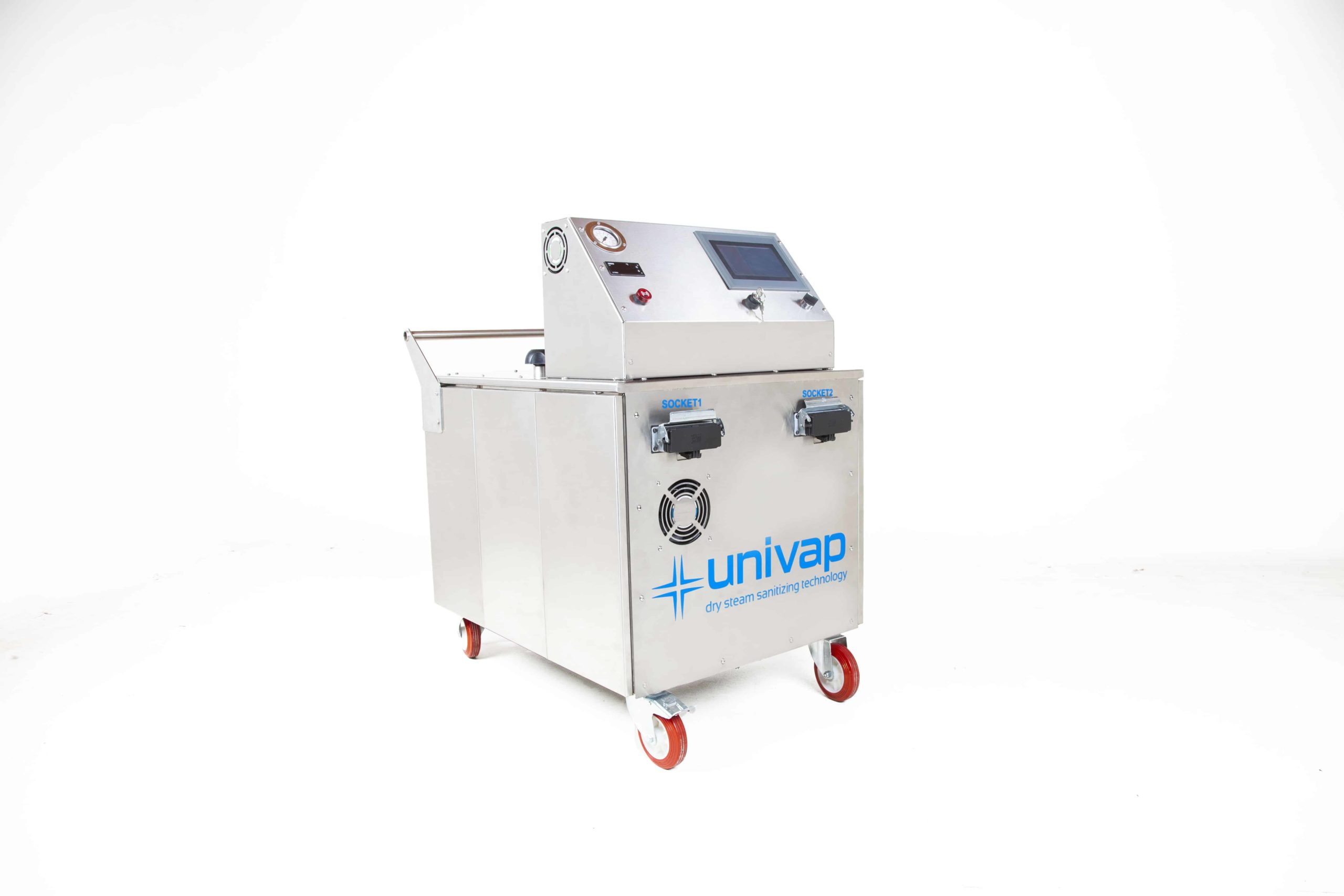 UNI SVC 27-48 Steam Cleaning Machine Side View