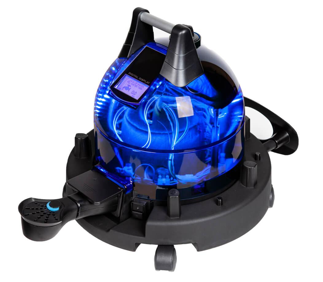 Unitekno Plutonio Buharlı Temizlik Makinesi Aparatlı Görünüm