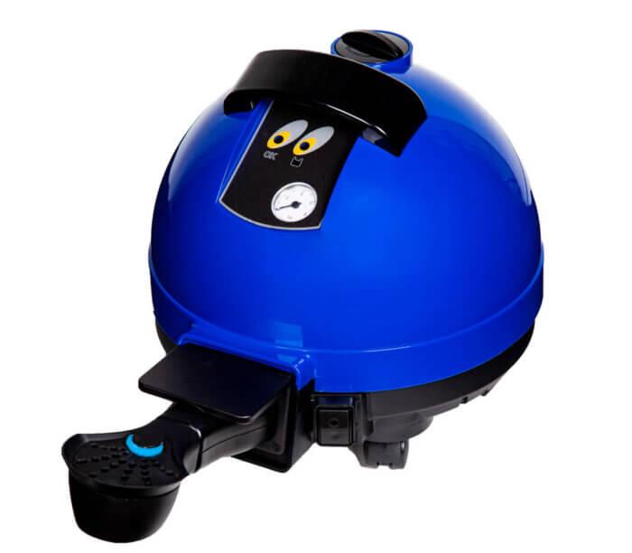 Blue Unitekno 2200 Automatico Apparatus Appearance